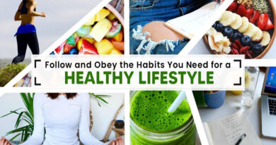 habits healthy lifestyle
