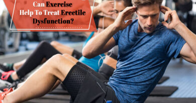 Can Exercise Help To Treat Erectile Dysfunction