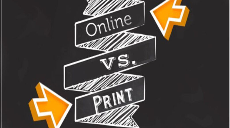 print media & the online media in Ghana